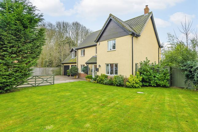 Thumbnail Detached house for sale in The Glebe, Hockering, Dereham