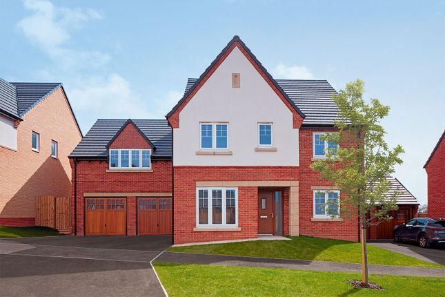 "Thumbnail Detached house for sale in ""The Winterberry"" at Knightley Road, Gnosall, Stafford"