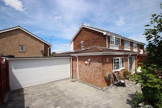 Thumbnail Semi-detached house for sale in Nightingale Close, Rainham, Gillingham