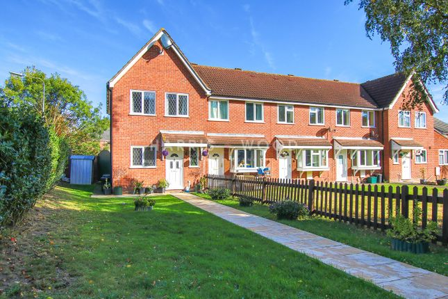 Thumbnail End terrace house for sale in Hunters Ridge, Highwoods, Colchester