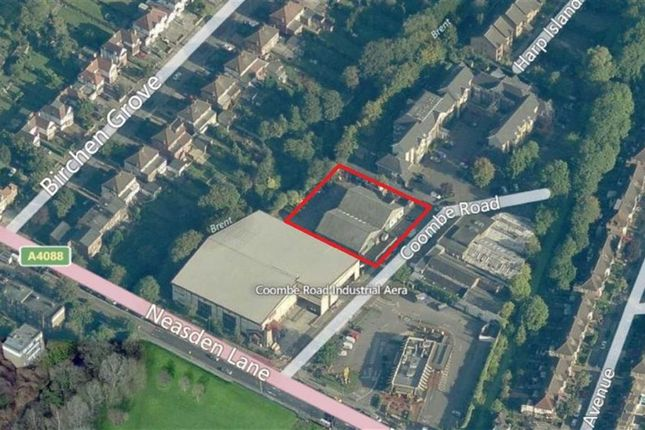 Thumbnail Commercial property for sale in Coombe Road, Neasden, London
