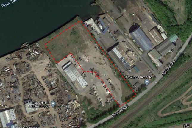 Thumbnail Land for sale in Normanby Wharf, Dockside Road, Middlesbrough