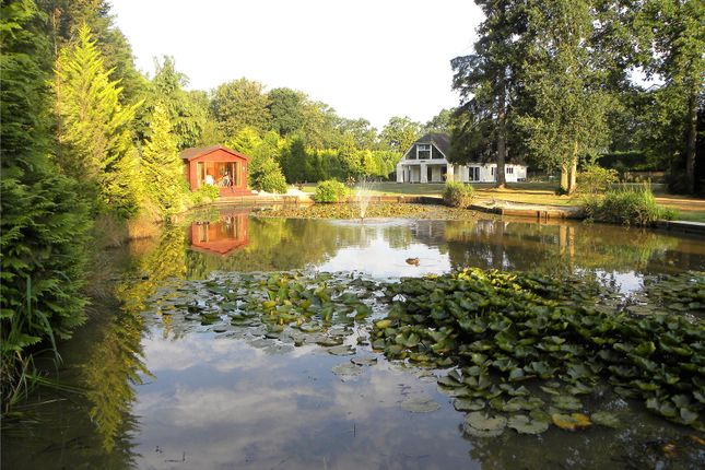 Thumbnail Detached house for sale in Park Lane, Finchampstead, Wokingham, Berkshire