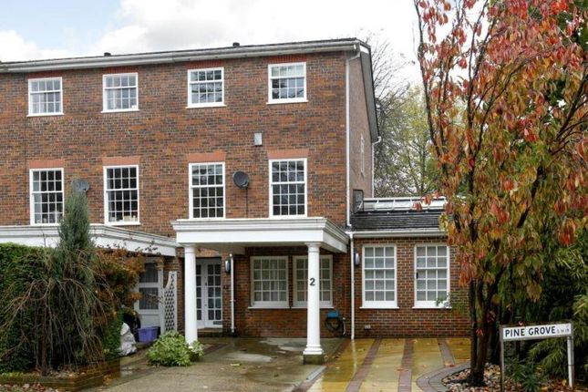 Thumbnail Terraced house to rent in Pine Grove, Wimbledon, London