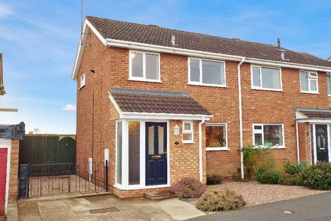 Thumbnail Semi-detached house for sale in Poplar Close, Irchester, Northamptonshire