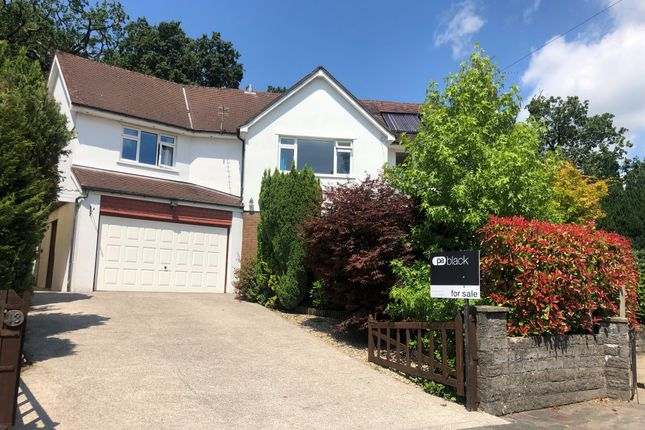 Thumbnail Detached house for sale in Hill Drive, Llantwit Fardre, Pontypridd