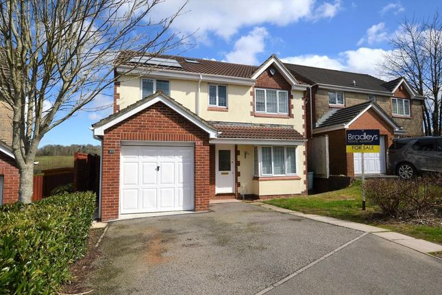 Thumbnail Detached house for sale in Upper Ridings, Plymouth, Devon