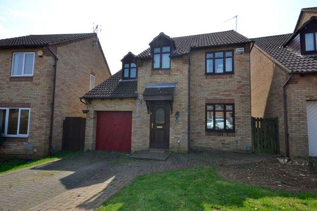 Thumbnail Detached house for sale in Allard Close, Rectory Farm, Northampton