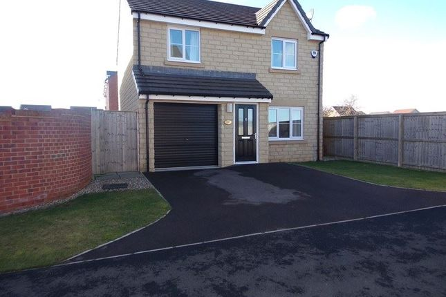Thumbnail Detached house for sale in Hexham Gardens, Blyth
