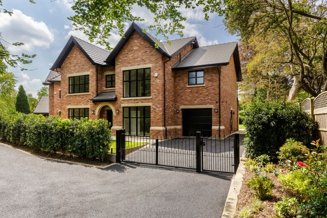Thumbnail Detached house for sale in Village Mews, Shirleys Drive, Prestbury, Macclesfield