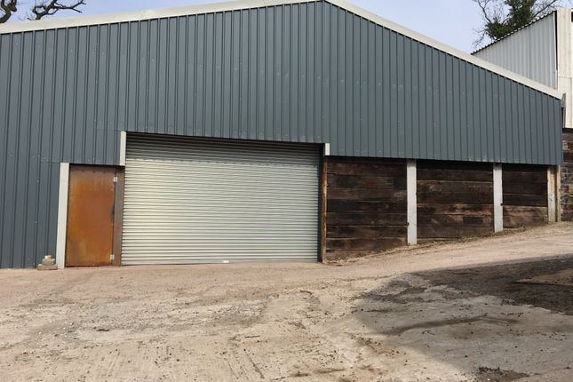Thumbnail Industrial to let in Unit 2 Bertholey Farm, Llantrisant, Usk