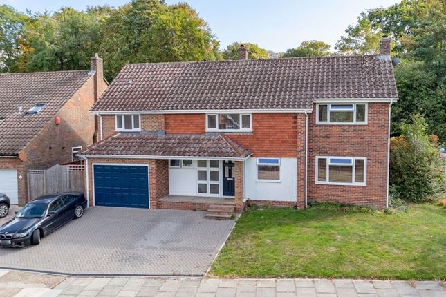 Thumbnail Detached house for sale in Woodlands, Pound Hill, Crawley, West Sussex