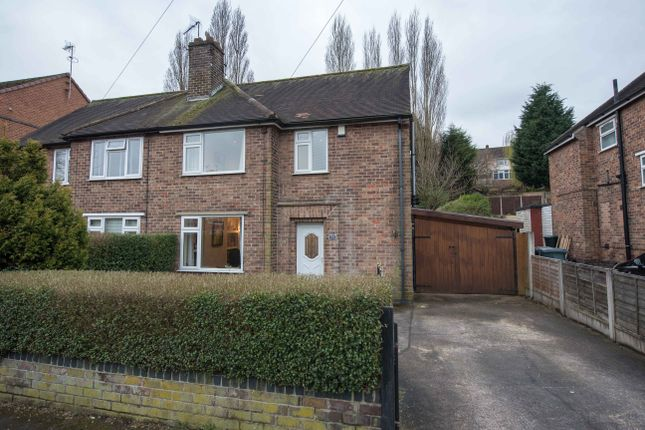 Thumbnail Semi-detached house for sale in Valley Road, Carlton, Nottingham