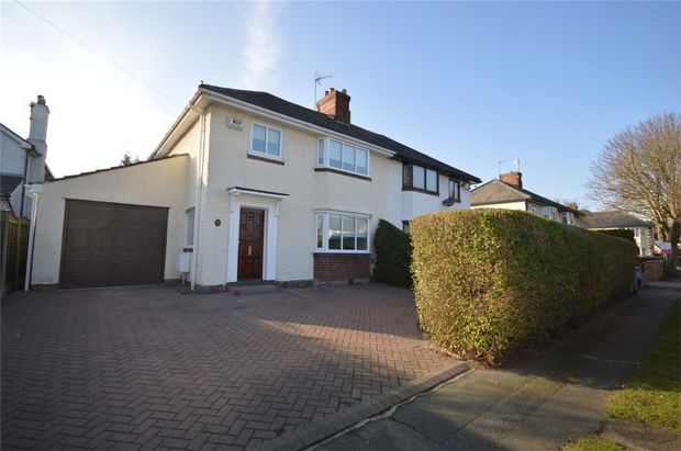 Thumbnail Semi-detached house for sale in Mayfield Road, Bebington, Merseyside