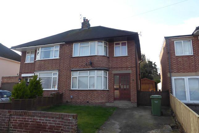 Thumbnail Semi-detached house to rent in Poplar Grove, Kennington, Oxford