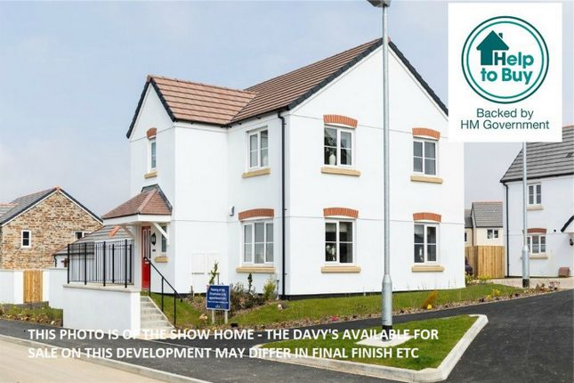 Thumbnail Detached house for sale in The Davy Show Home, Tregony View, Probus, Nr Truro, Cornwall