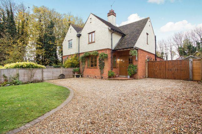 Thumbnail Semi-detached house for sale in Fakenham Road, Hillington, King's Lynn