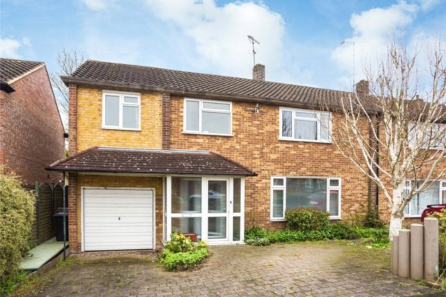Thumbnail Semi-detached house for sale in Hunter Avenue, Shenfield, Brentwood, Essex
