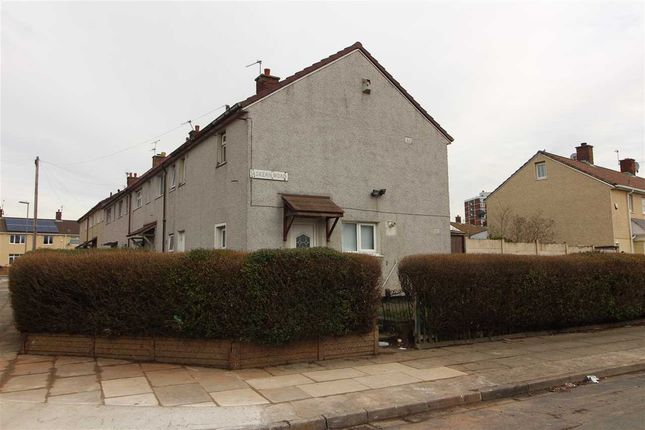 Thumbnail End terrace house to rent in Askern Road, Kirkby, Liverpool