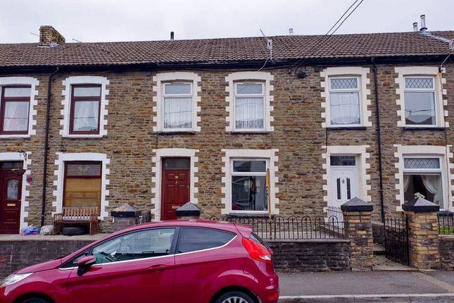 Thumbnail Terraced house to rent in Bank Street Penygraig -, Tonypandy