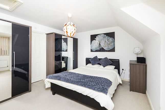 Master Bedroom of South Lodge Mews, Midway, Swadlincote, Derbyshire DE11