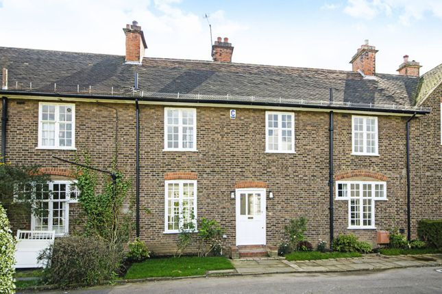 Thumbnail Terraced house to rent in Hampstead Way, Hampstead Garden Suburb