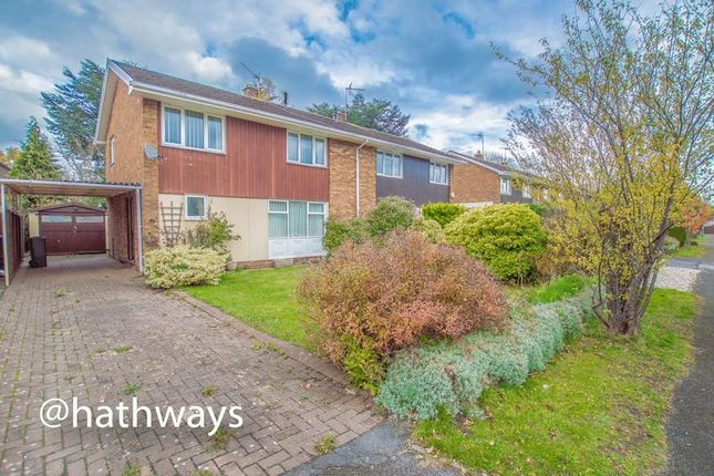 Thumbnail Semi-detached house for sale in The Orchard, Ponthir, Newport