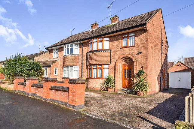Thumbnail Semi-detached house for sale in Buxton Drive, Mickleover, Derby