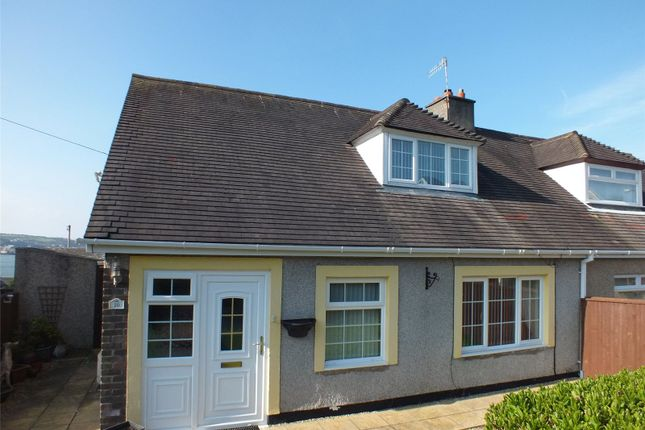 Thumbnail Semi-detached bungalow for sale in Sidney Webb Close, Neyland, Milford Haven