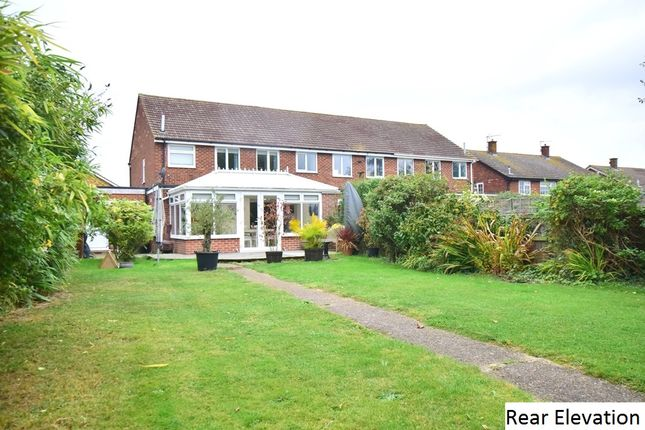 Thumbnail End terrace house for sale in Rochester Crescent, Hoo, Rochester, Kent