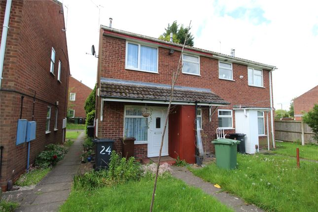 Thumbnail Town house to rent in Marholm Close, Pendeford, Wolverhampton