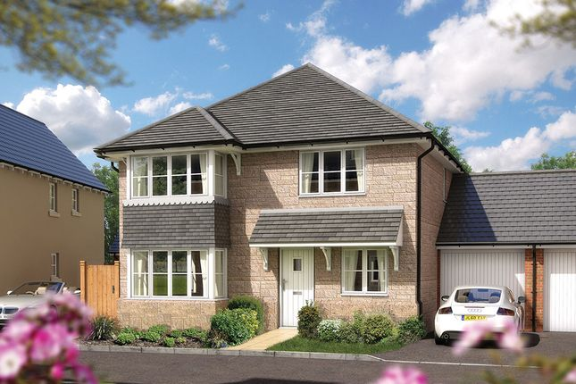 "Thumbnail Detached house for sale in ""The Canterbury"" at Bradley Bends, Devon, Bovey Tracey"
