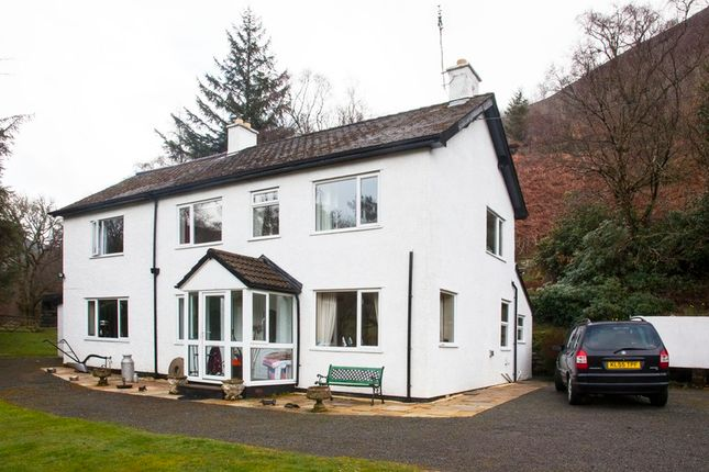 Thumbnail Detached house for sale in Llangurig Road, Rhayader, Powys