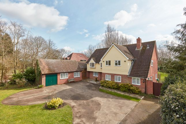 Thumbnail Detached house for sale in Burton End, West Wickham, Cambs