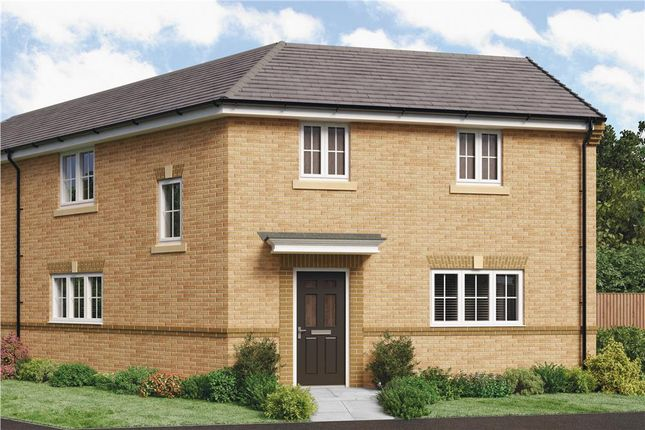 "Thumbnail Semi-detached house for sale in ""The Kipling"" at Parkside, Hebburn"