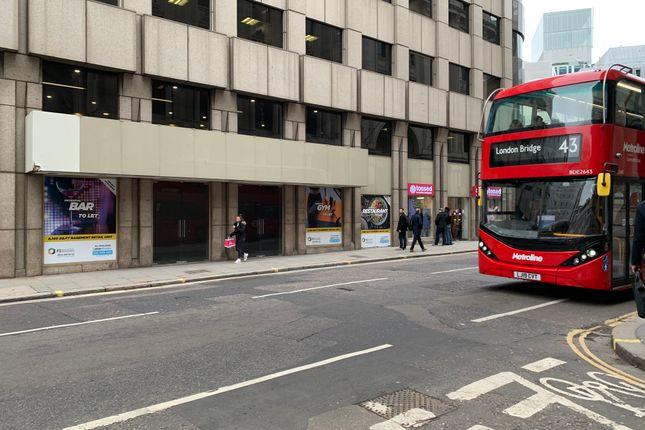 Thumbnail Retail premises to let in King William Street, London