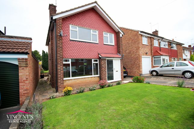 Thumbnail Detached house for sale in Grass Acres, Braunstone Town, Leicester