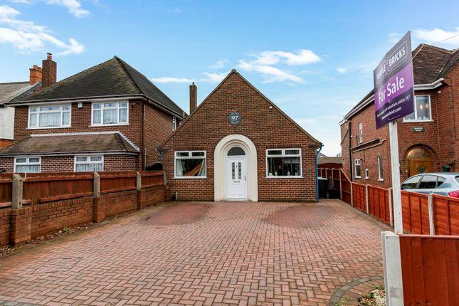Thumbnail Detached bungalow for sale in Blackhalve Lane, Wednesfield