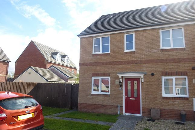 2 bed end terrace house for sale in Ffordd Y Glowyr, Betws, Ammanford, Carmarthenshire. SA18