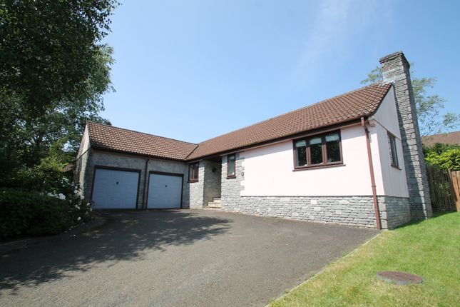 Thumbnail Detached bungalow for sale in Oaktree Close, Woodlands, Ivybridge