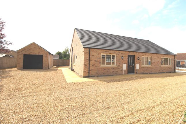 Thumbnail Detached bungalow for sale in Bassenhally Road, Whittlesey, Peterborough