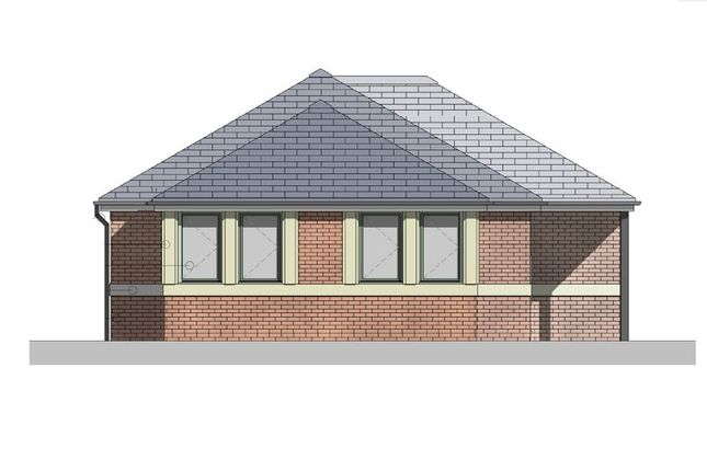 Thumbnail Detached bungalow for sale in Woodlands Court, Newcastle-Under-Lyme