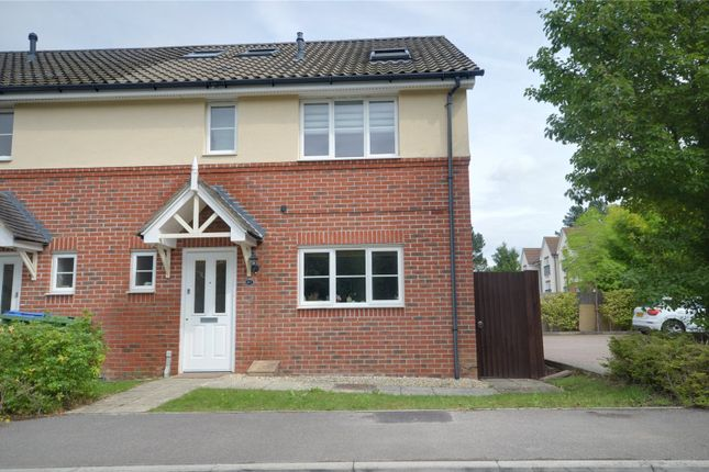 Thumbnail End terrace house to rent in Horsham, West Sussex