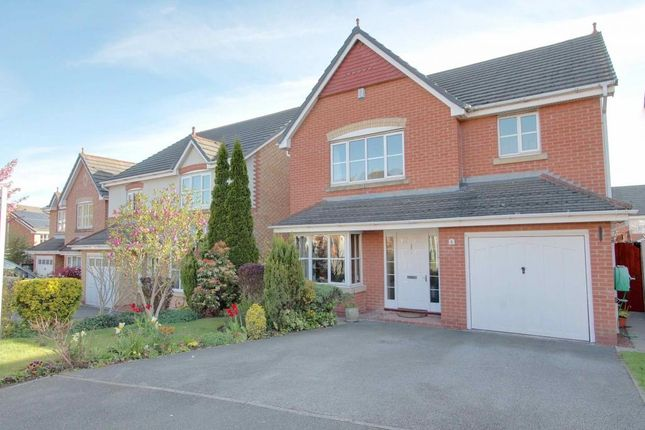 4 bed detached house for sale in Trafalgar Close, Davenham, Northwich