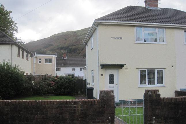 Thumbnail Semi-detached house to rent in Minyffordd, Ystalyfera, Swansea