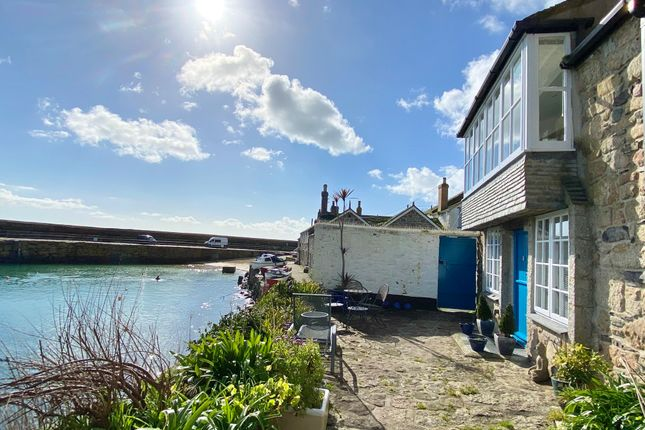 Thumbnail End terrace house for sale in Fishermans Square, Mousehole, Penzance