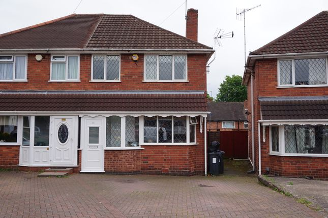 Thumbnail Semi-detached house for sale in Smalldale Road, Great Barr, Birmingham