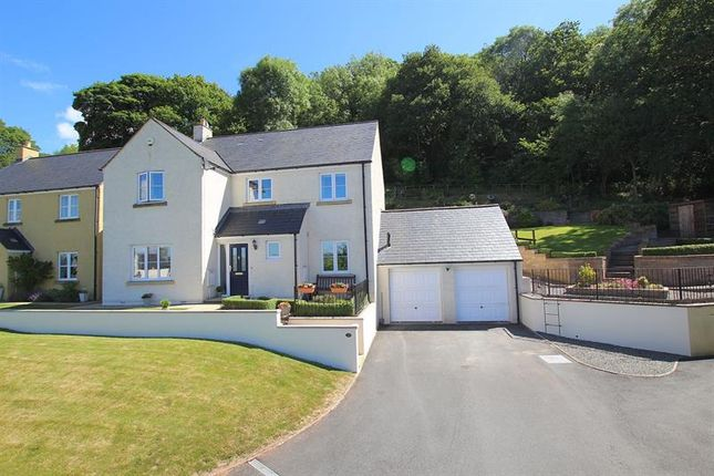 Thumbnail Detached house for sale in Eluneds Drive, Brecon