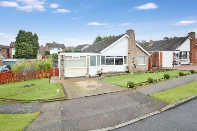 Thumbnail Bungalow for sale in Frensham Close, Oadby, Leicester
