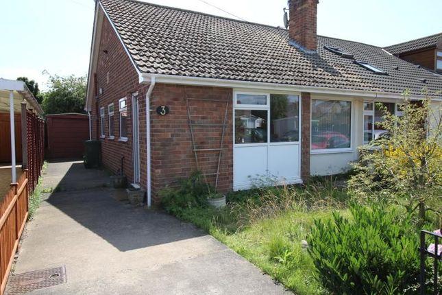Thumbnail Bungalow to rent in Grampian Close, Huntington, York